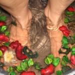 ванночка для ног при подагре